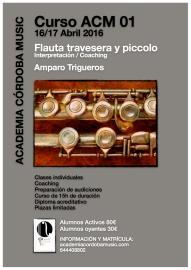 cartel flauta